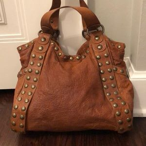 Kooba Genuine Leather Studded Bag